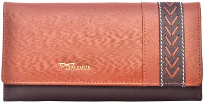 Tamanna Women Casual Tan, Brown  Clutch
