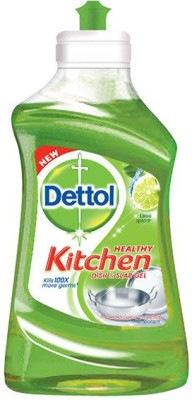 Dettol Kitchen Slab and Dish Cleaning Gel(Lime Splash, 200 ml)