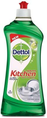 Dettol Kitchen Slab and Dish Cleaning Gel(Lime Splash, 750 ml)