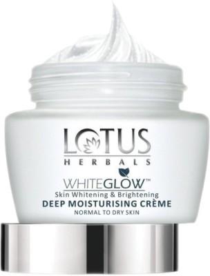 Lotus Herbals White Glow Skin Whitening And Brightening Deep Moisturizing Cream Spf 20(60 g)