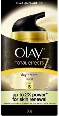 Olay Total Effects 7 In 1 Anti Ageing Normal Day Cream, SPF 15(50 g)