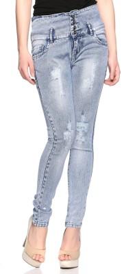 f295b2c39c8 62% OFF on Fasnoya Skinny Women Blue Jeans on Flipkart