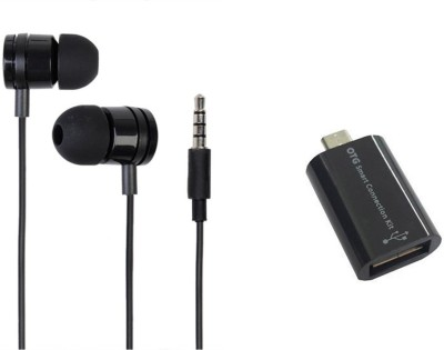 Mocell Headphone Accessory Combo for Xiaomi Redmi Note 4(Black)