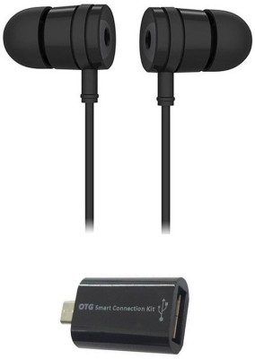 Mocell Headphone Accessory Combo for Xiaomi Redmi 4A(Black)