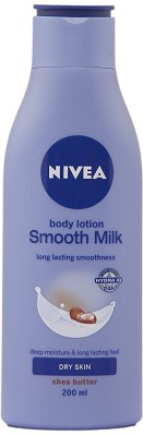 Nivea Smooth Milk With Shea Butter Body Lotion 200ml