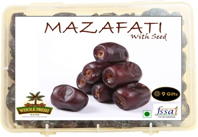 9 GIFTS Mazafati Khajoor IRAN Dates(500 g, Box)