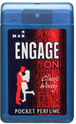 Engage On Classic Woody Pocket Perfume  -  18 ml(For Men)