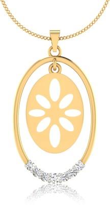 IskiUski The 18kt Diamond Yellow Gold Pendant IskiUski Pendants   Lockets