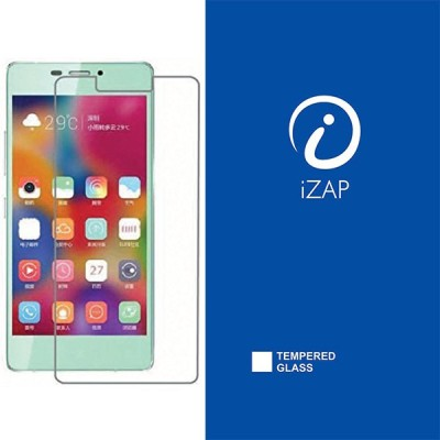 iZAP Tempered Glass Guard for Gionee 5.5  available at flipkart for Rs.199