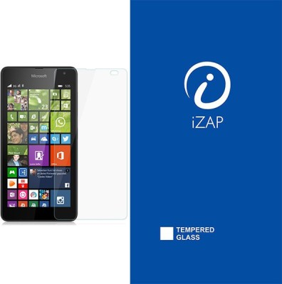 iZAP Tempered Glass Guard for Microsoft Lumia 535(Pack of 1)