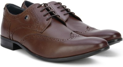 7c3ae4c4f Buy Louis Philippe Lace Up Shoes For Men(Tan) on Flipkart ...
