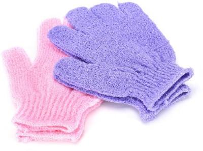 Sukot 4PCs Bath Shower Skin Spa Gloves Exfoliating SPA Massage Mitt Body Scrubber at flipkart