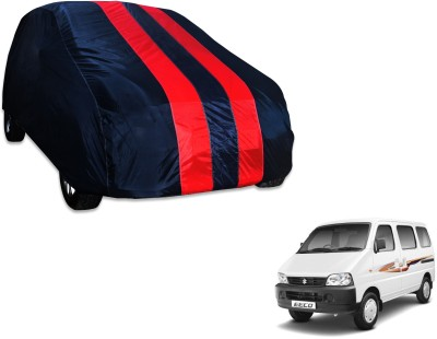 Flipkart SmartBuy Car Cover For Maruti Suzuki Eeco (Without Mirror Pockets)(Blue, Red) Flipkart