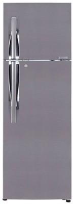 LG GL-T292RPZY 260L 3 Star Double Door Refrigerator (Shiny Steel)