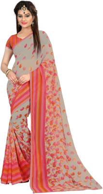 Divastri Printed Fashion Georgette Saree