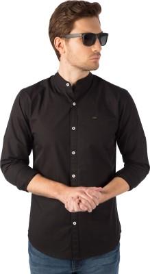 RODID Men Solid Casual Black Shirt RODID Casual Shirts