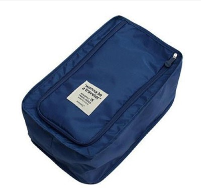 ITALISH Shoe Pouch Blue ITALISH Travel Pouches