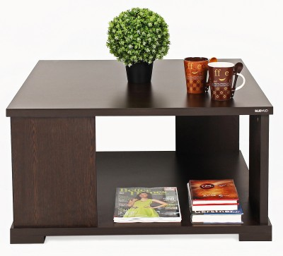 Bluewud Sydney Engineered Wood Coffee Table(Finish Color - Walnut)
