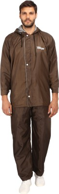 Comfort Self Design Men & Women Raincoat