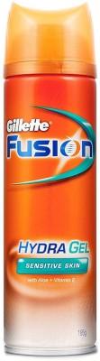 Gillette Fusion Hydra Gel Sensitive Shaving Gel(195 g)