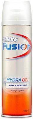 Gillette Fusion Hydra Gel Pure & Sensitive Shave Gel(195 g)