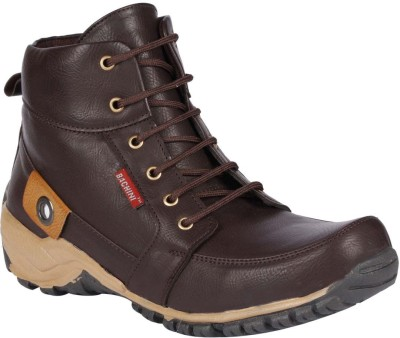 Bachini Boots For Men(Brown)