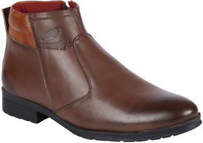 RockSoft Club Shoes Lace Up For Men(Brown)