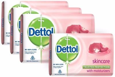 Dettol Skincare Soap(300 g, Pack of 4)