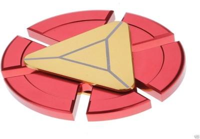 PATHE Premium Quality Metallic Iron Man Ultra Speed Fidget Spinner Toy (Red, Gold)(Gold)