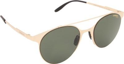 Carrera Round Sunglasses(Green) at flipkart