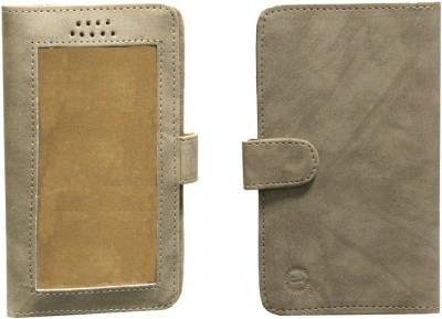 J Pouch for Xolo Q800 X Edition(Cream, Artificial Leather)