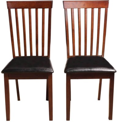 Woodness Solid Wood Dining Chair(Set of 2, Finish Color - Wenge)