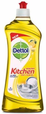 Dettol Kitchen Slab and Dish Cleaning Gel(Lemon Fresh, 750 ml)