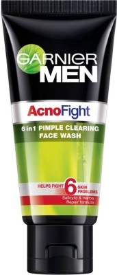 Garnier Men Acno Fight 6 in 1 Pimple Clearing Face Wash(100 g)