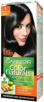 Garnier Color Naturals Hair Color - Shade Natural Black 1, 70ml