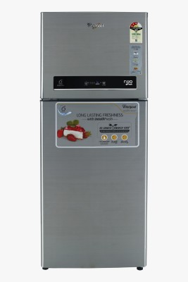 Whirlpool 245 L Frost Free Double Door 3 Star Refrigerator Illusia Steel, NEO IF258 ELT 3S