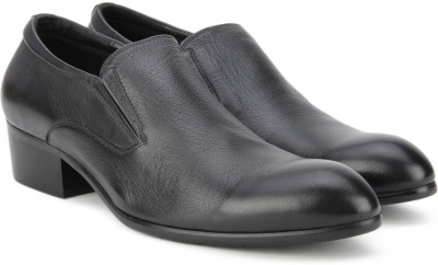 Pavers England Genuine Leather Slip On(Brown) at flipkart