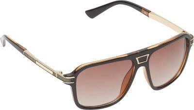 Amaze Wayfarer Sunglasses(Brown) at flipkart