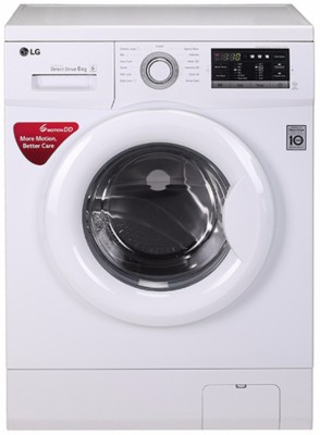 LG 6Kg Font Load Fully Automatic Washing Machine White (FH0G7NDNL02, White)