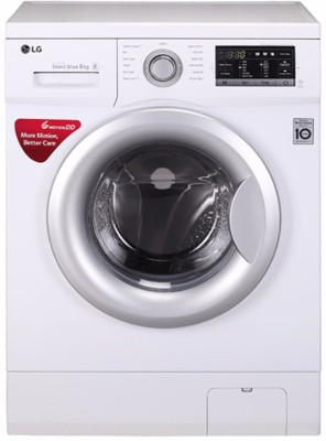 LG 6 kg Fully Automatic Front Load Washing Machine White(FH2G7NDNL12)