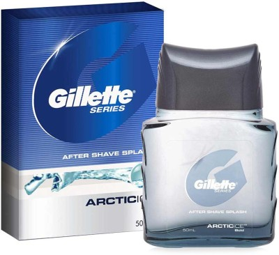 Gillette Arctic Ice After Shave Splash(50 ml)  available at flipkart for Rs.254