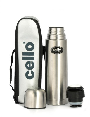 Cello Life Style 1000 ml Flask(Pack of 1, Silver) at flipkart