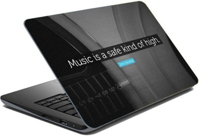 ezyPRNT Sparkle Laminated Music is the Emotion  15 to 15.6 inch  Vinyl Laptop Decal 15