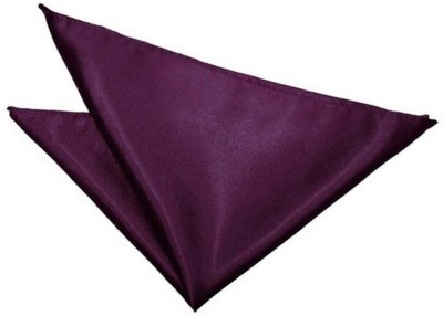 FashMade Solid Satin Pocket Square