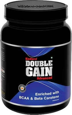 Endura Double Gain Advanced Weight Gainers/Mass Gainers(1 kg, Chocolate)