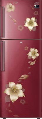 Samsung RT28K3343R2 253L Double Door Refrigerator, Star Flower