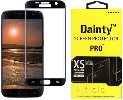 Dainty Tempered Glass Guard for Samsung Galaxy S6 (5.1 inch, Black) (Full Glass)