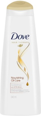 Dove Nourishing Oil Care Nutritive Solutions Shampoo, 340ml
