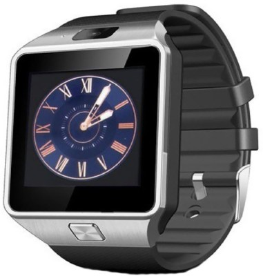 YSB dz09 Smartwatch(Black Strap Regular)