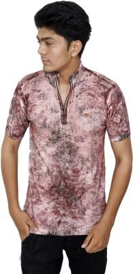 JG FORCEMAN Printed Men Round Neck Orange T-Shirt Flipkart